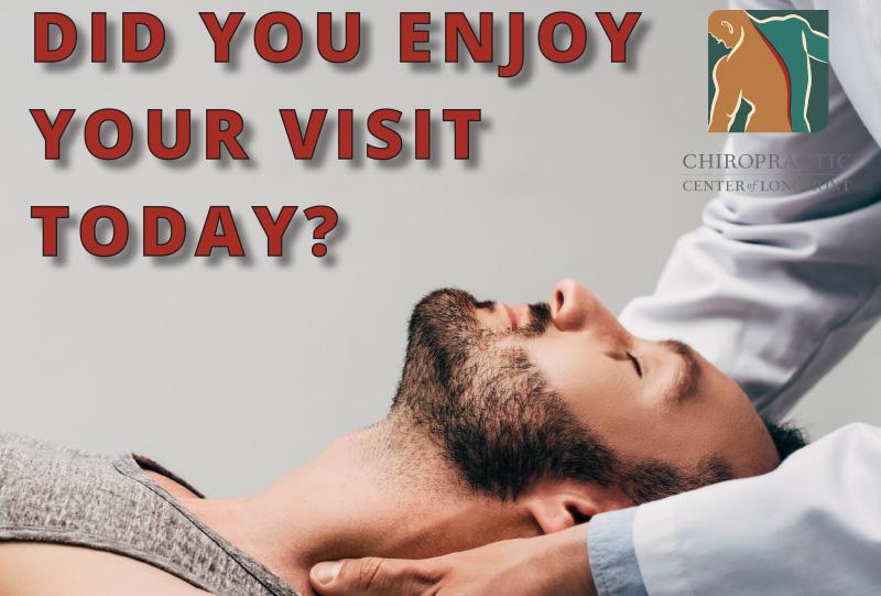 Chiropractic Center of Longmont Review Flyer