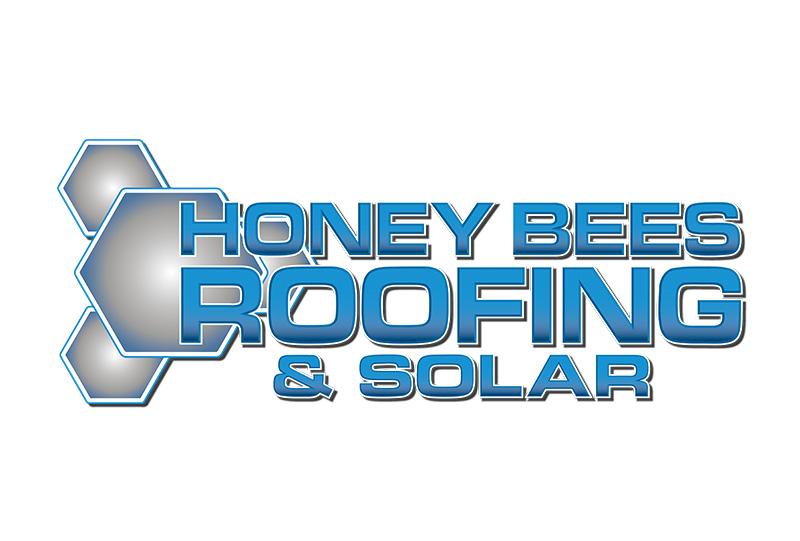 Honey Bees Roofing & Solar Logo